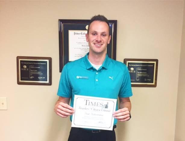 Hamilton County's Top Chiropractor!